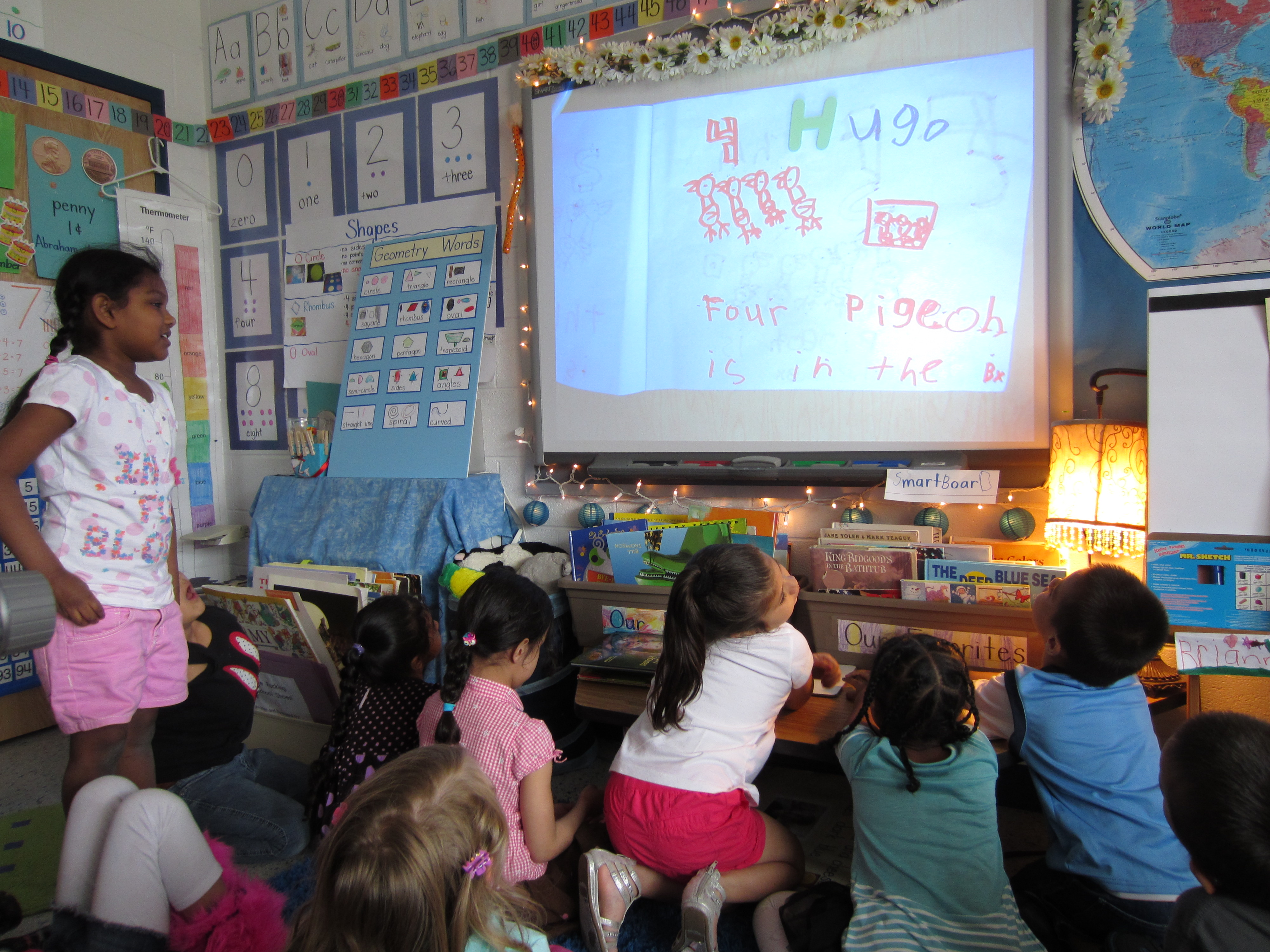 Interacting With Our Interactive Whiteboard Catching