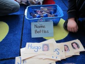 Name bottles