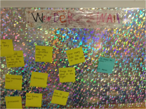 "Our class ""Wonder Wall"""