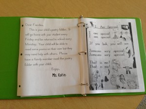 The opening letter and first song in our notebooks